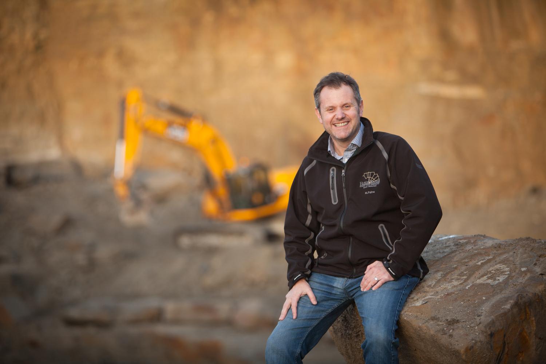 Stone quarry manager