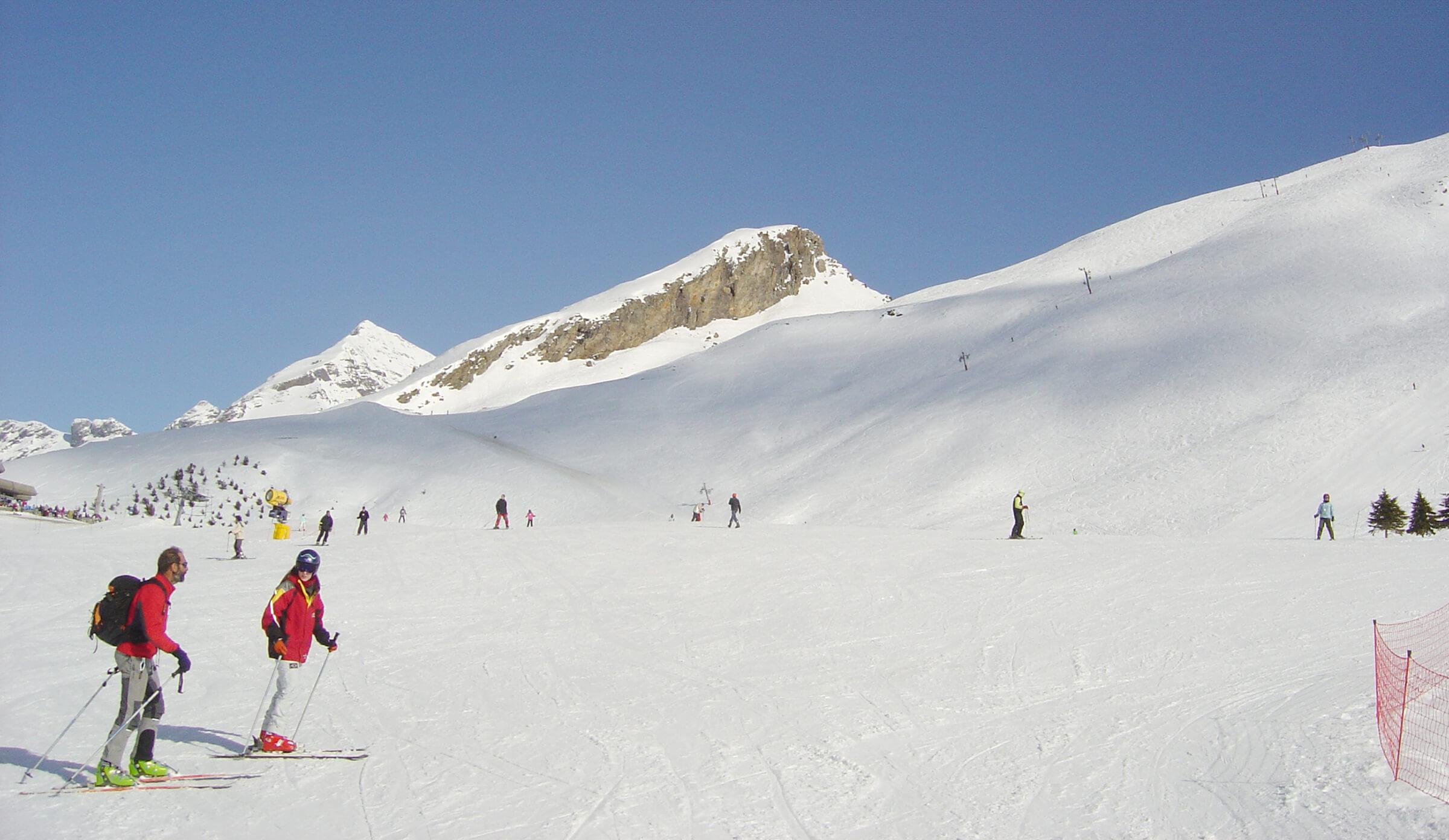 Hôtel les Rochers Skiing