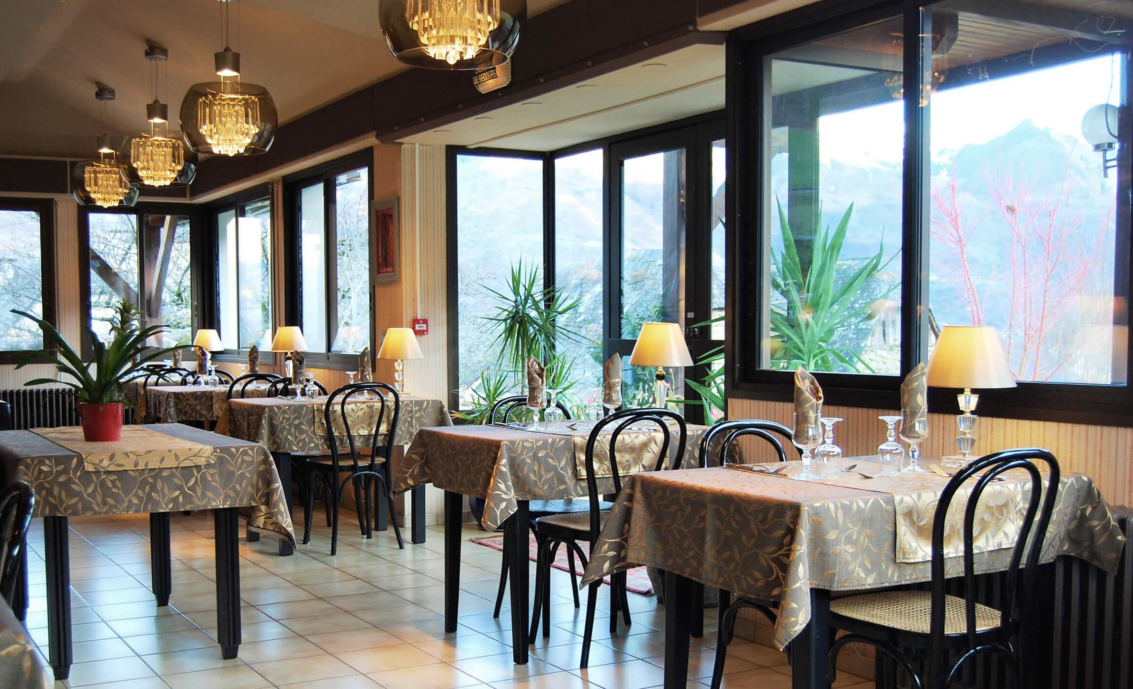Hôtel les Rochers Restaurant