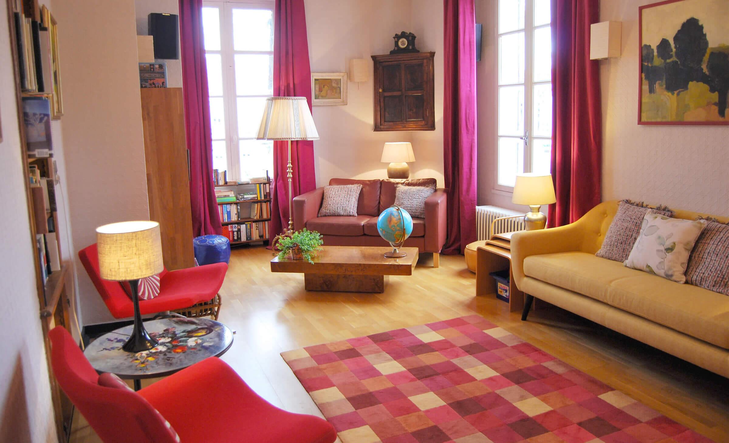 Hôtel les Rochers Salon