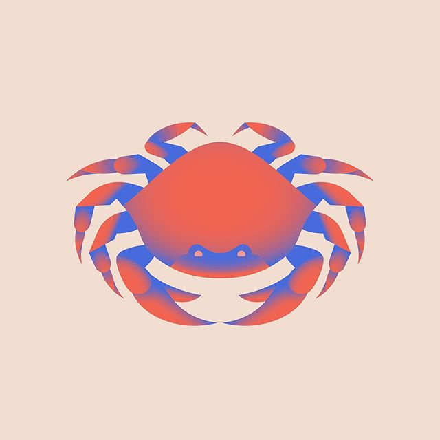 Lil pointy for a set of spot illustrations . . . . . . . #crab #crablegs #illustration #illustrationartists #dribbble #dribbblers #illustree #weloveillustration #flatillustration #vectorgraphics #gfxmob #supplyanddesign