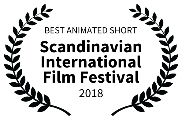 Meeting MacGuffin wins BEST ANIMATED SHORT at  SCIFF  in Helsinki, Finland!