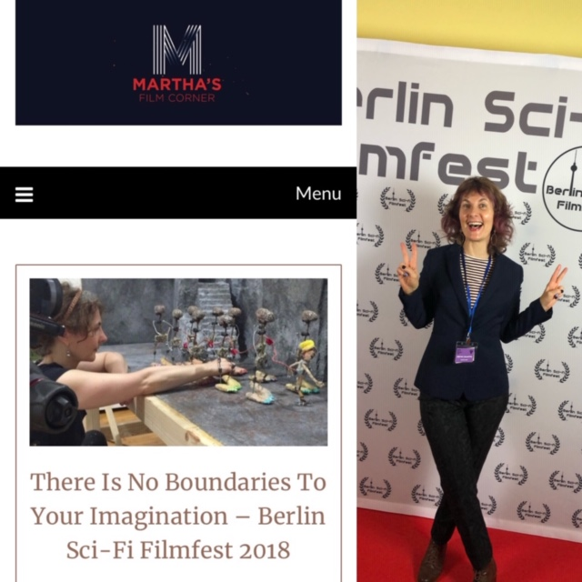 """There Is No Boundaries To Your Imagination – Berlin Sci-Fi Filmfest 2018.  Posted on December 6,  2018  by  Martha  Sigargök-Martin  Interview with Catya Plate, Visual Artist & Director. Catya talks about her animated films, """"Meeting MacGuffin"""" and her inspiration for these very imaginative shorts."""