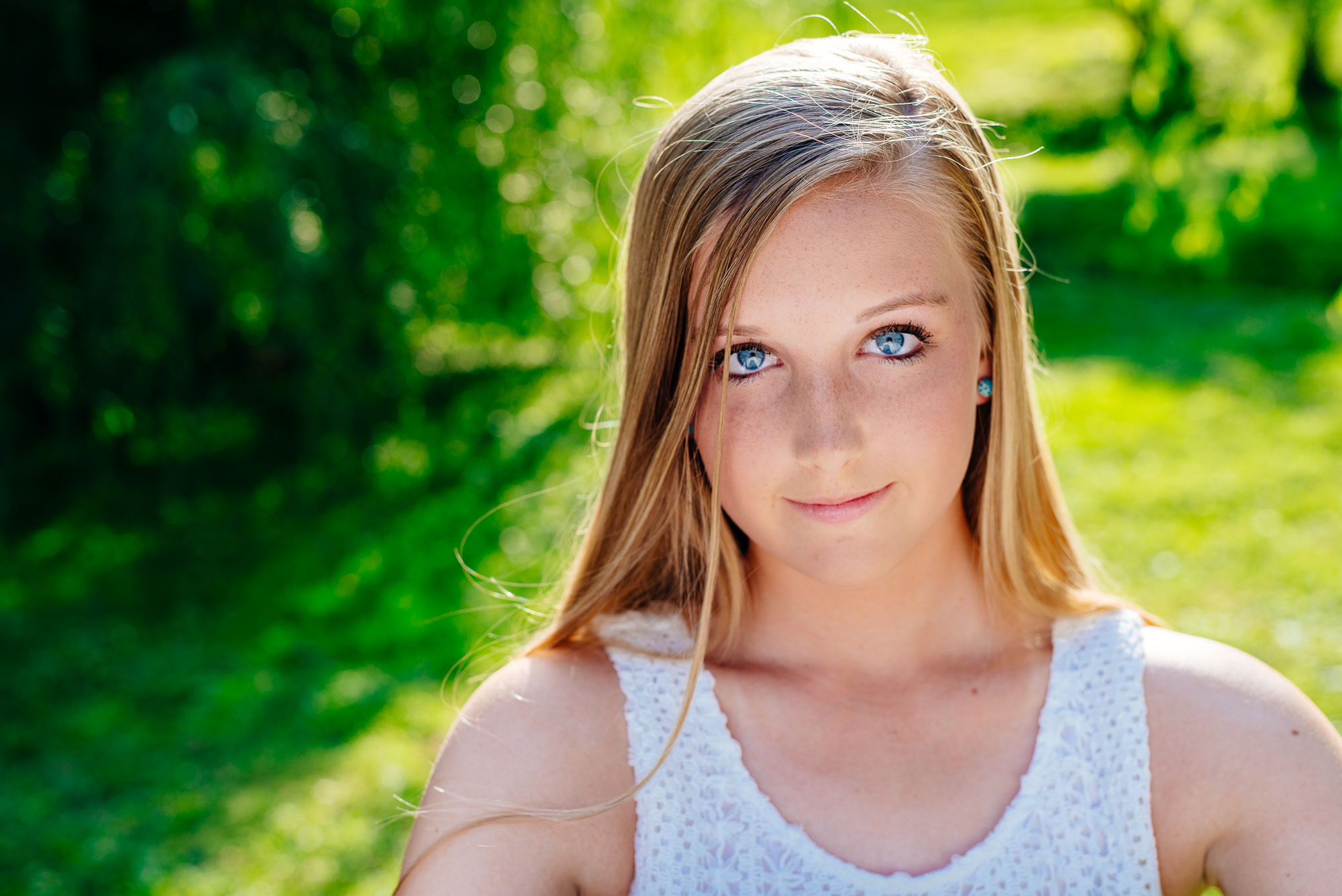 Harrisburg Senior Photography Blonde
