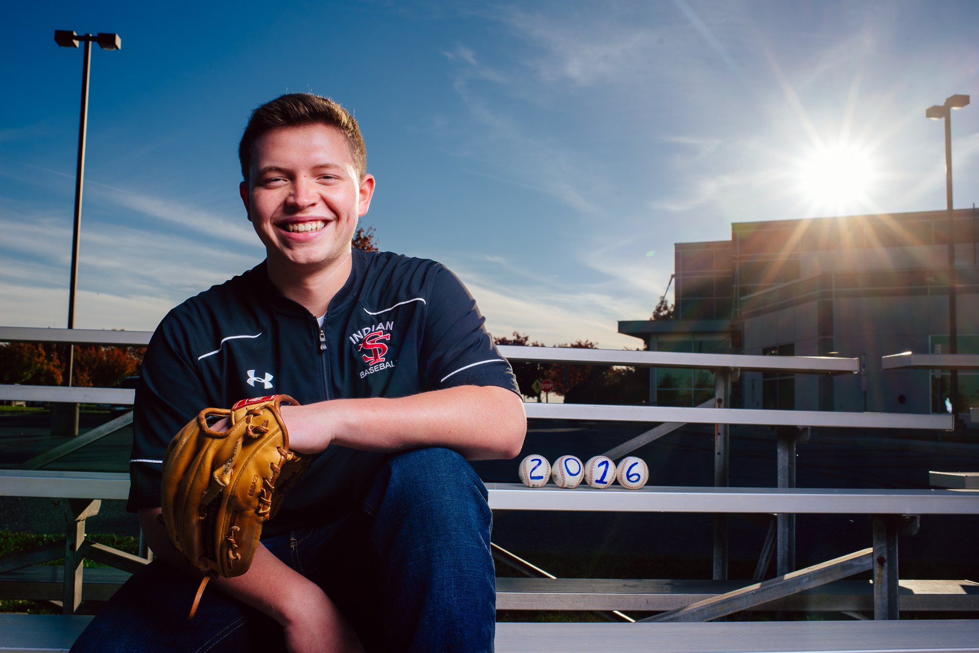 Harrisburg Senior Photo Baseball 2016