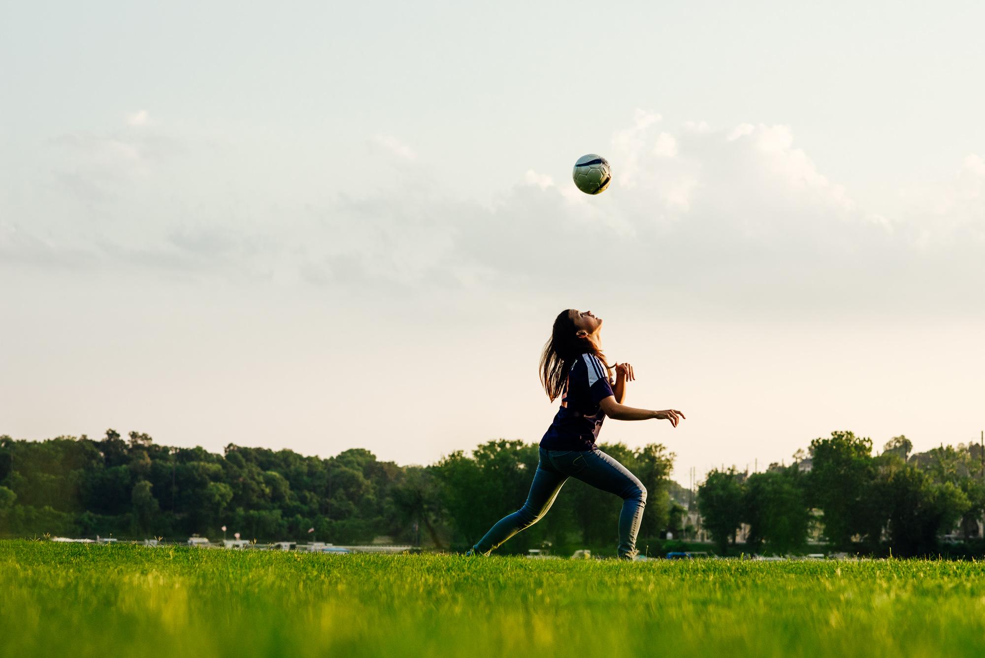 Soccer Senior Photography Harrisburg