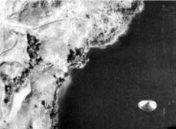 UFO over Lake Coté