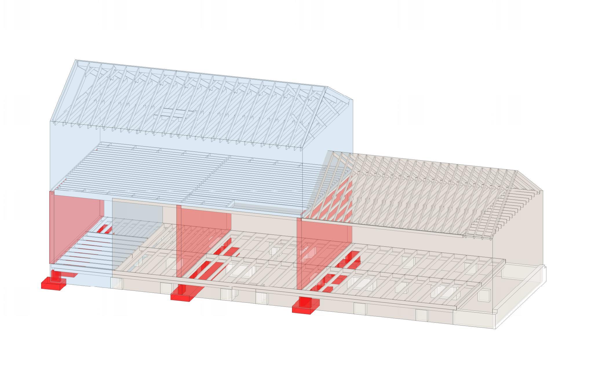 image showing load bearing walls