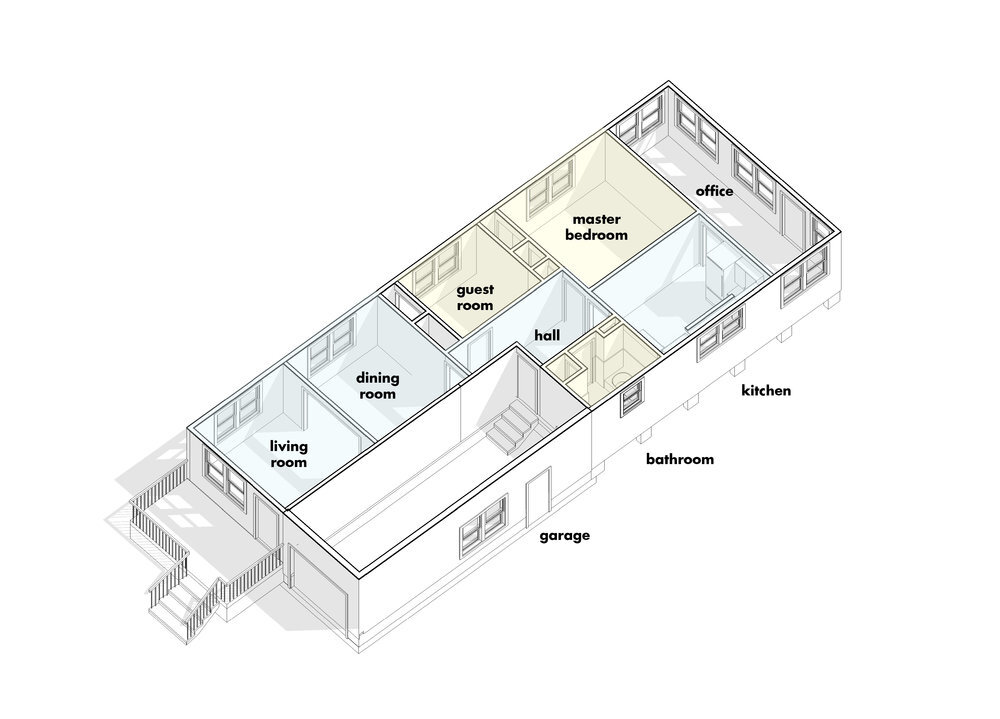 Better Than A Flip: Re-Imagining Our Forever Home — Studio BKA on revit design, revit floor plans with dimensions, revit sample plans, 1920s craftsman bungalow house plans, revit architecture, adobe style homes floor plans, revit home, revit 2013 portfolios, small revit floor plans,