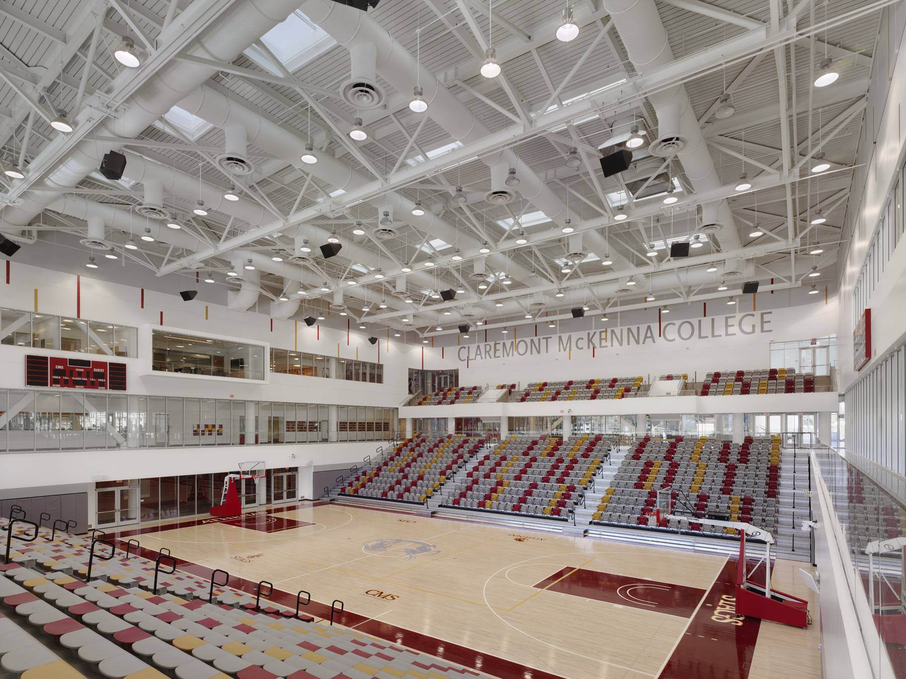 Arena from northeast corner