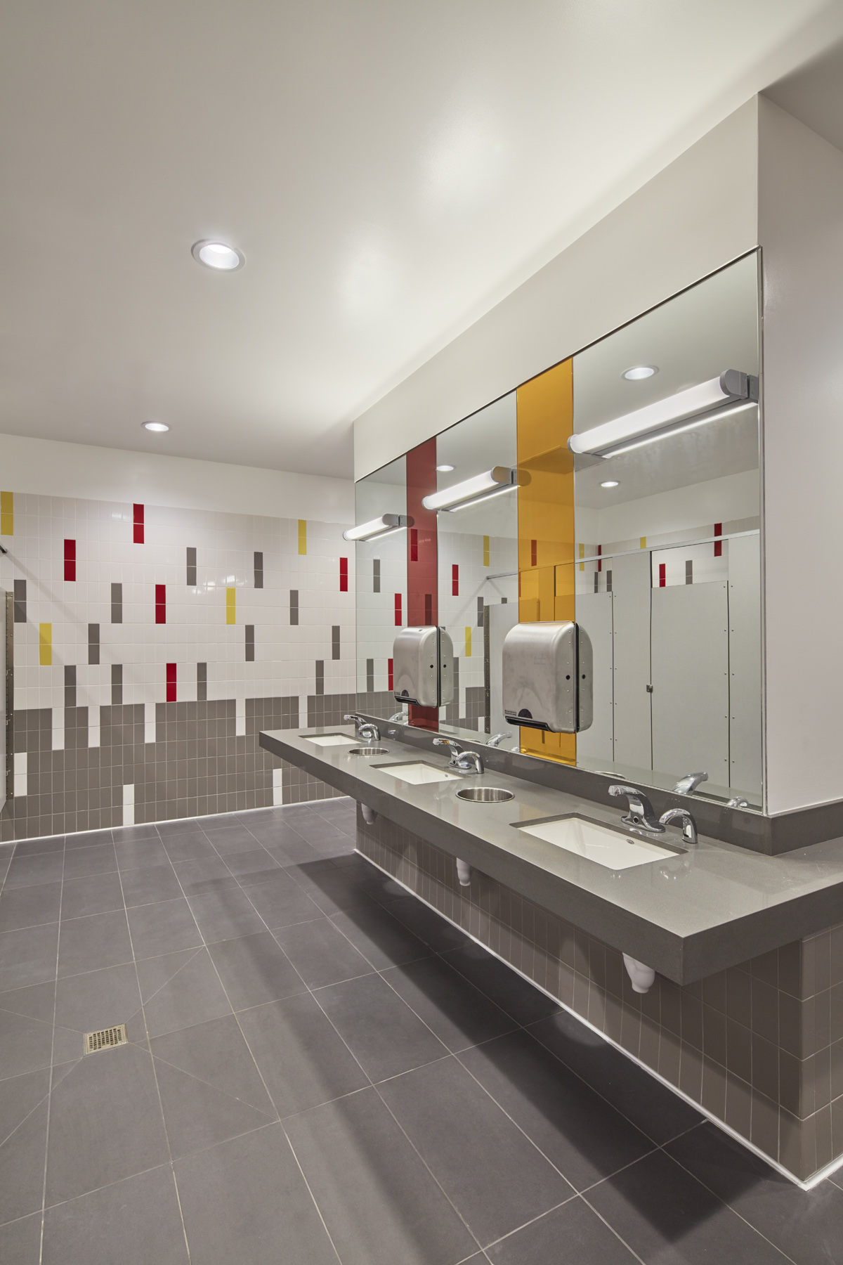 Typical restroom