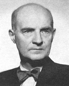 """Professor Erling Eide, skaperen  av Studentsamfunnets orden """"Hestehoven""""."""