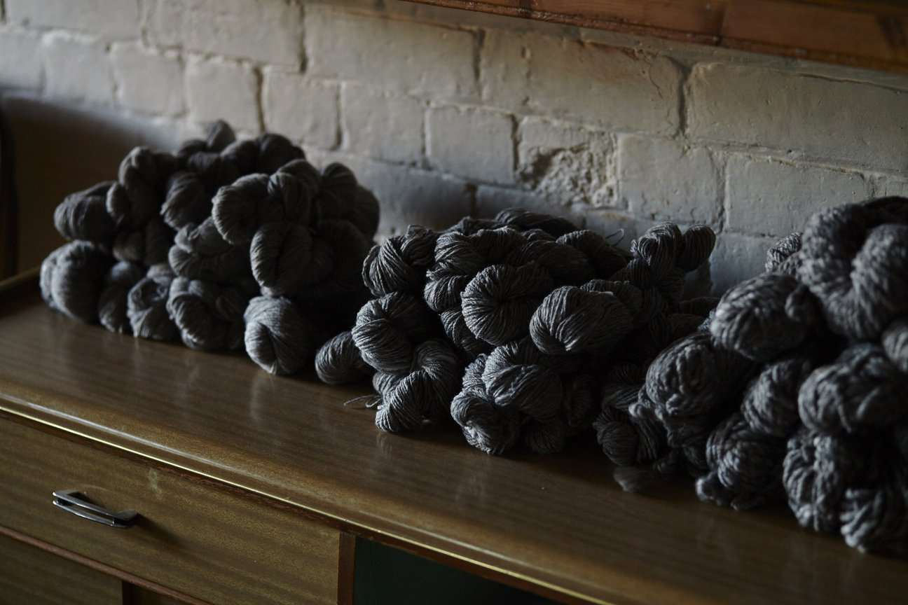 Local, various weights. Photo by  Wool Days .