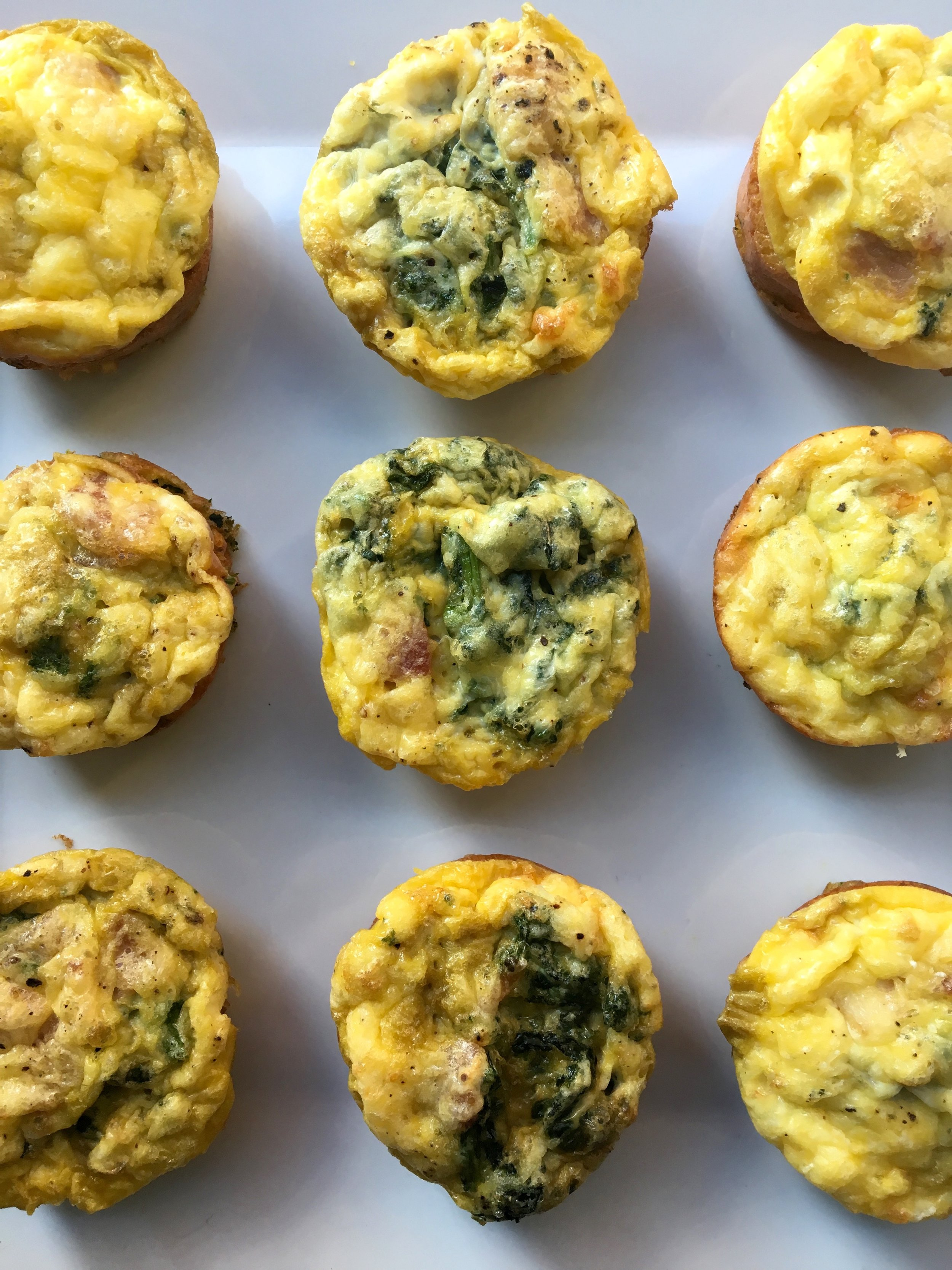 Broccolirabe Mini Frittatas