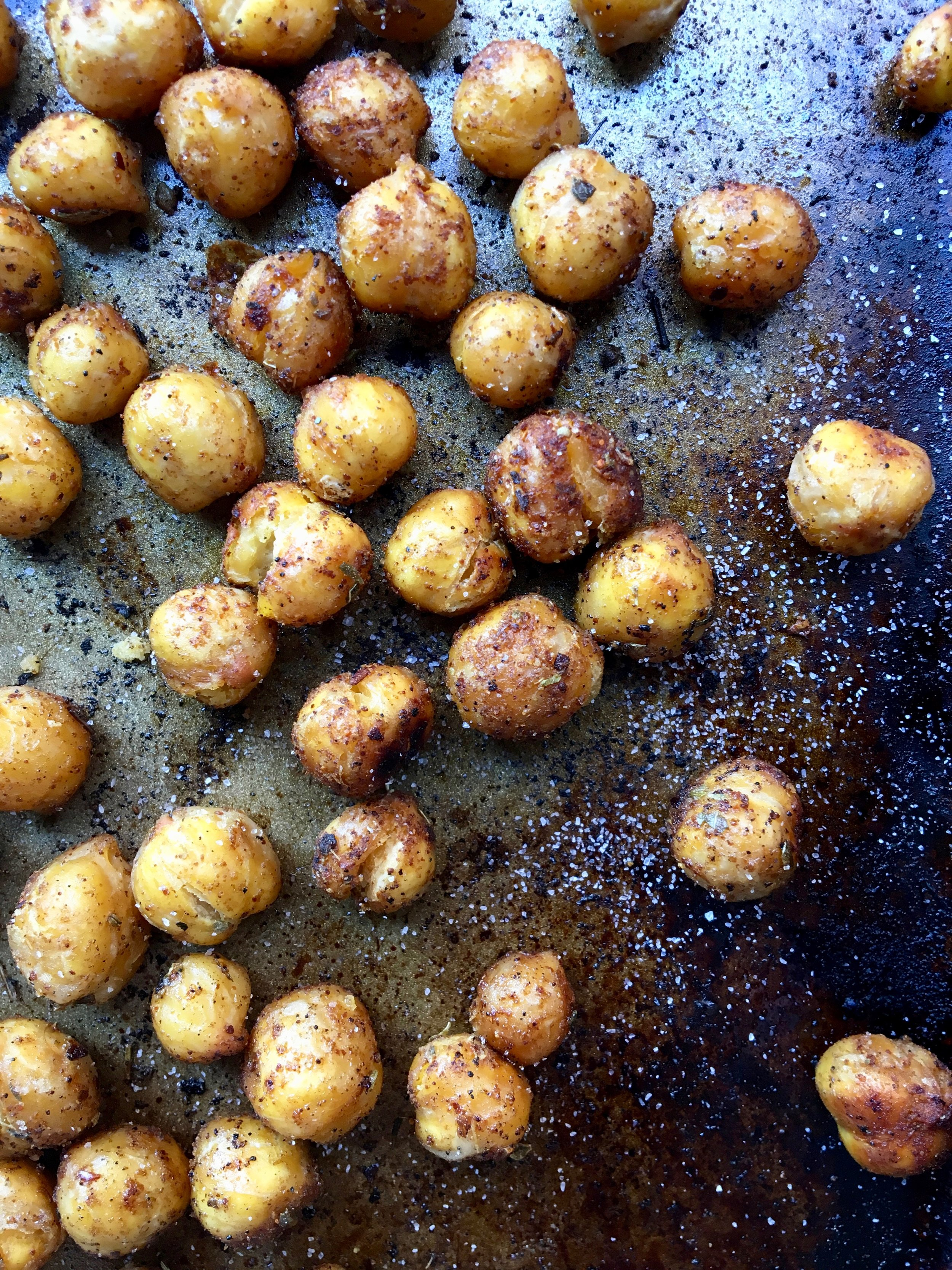 Roasted Chickpeas (ceci / garbanzos)