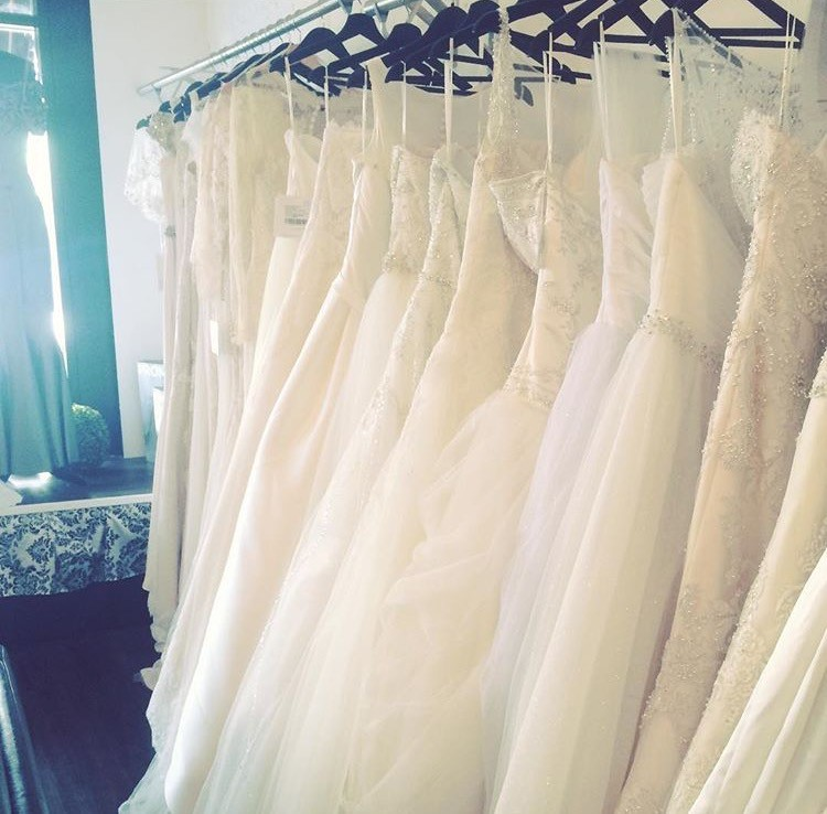 Brides, you can now consign your wedding gown with us if you decide not to keep it after your wedding. Why let it collect dust? Let us help you sell it on consignment right here in our sample salon.Ring us for details: 203-745-4649 .