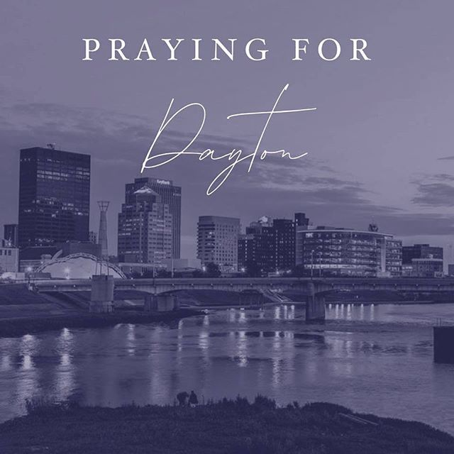 We have been and will be keeping Dayton in our prayers. PC: @salemchurchofgod  #daytonohio #daytonstrong #mountvernonohio #ohio #prayers