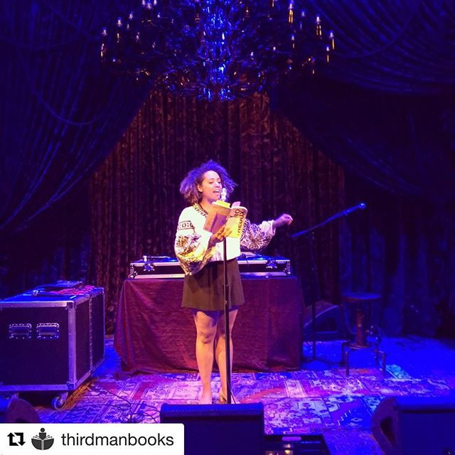 This post is overdue...big thanks to @thirdmanbooks and @native_nashville for such an incredible reading event!!! #repost #thirdmanrecords #thirdmanbooks #lucynegroredux #darklady  @get_repost