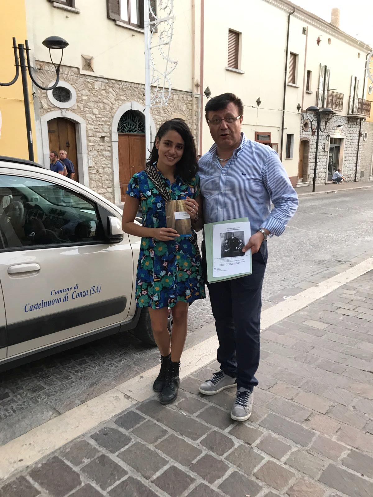 Con Michele Iannuzzelli, sindaco di Castelnuovo di Conza