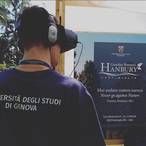 The Giardini Hanbury Experience at #Euroflora 2018