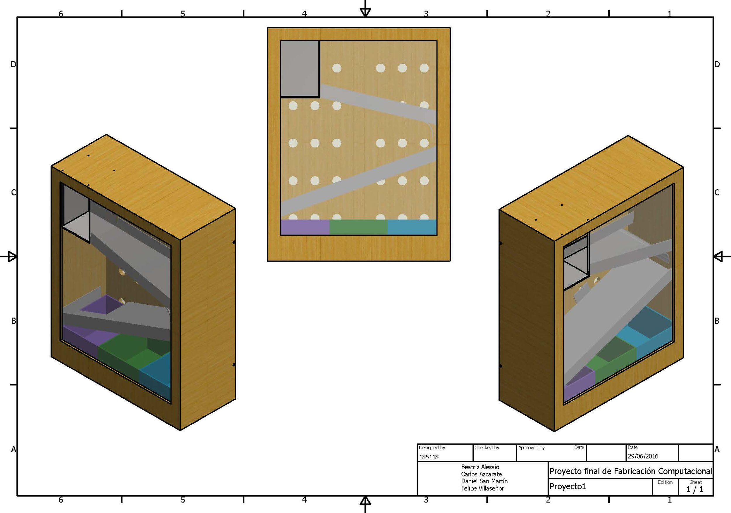 Autodesk Inventor CAD for the Recycler layout