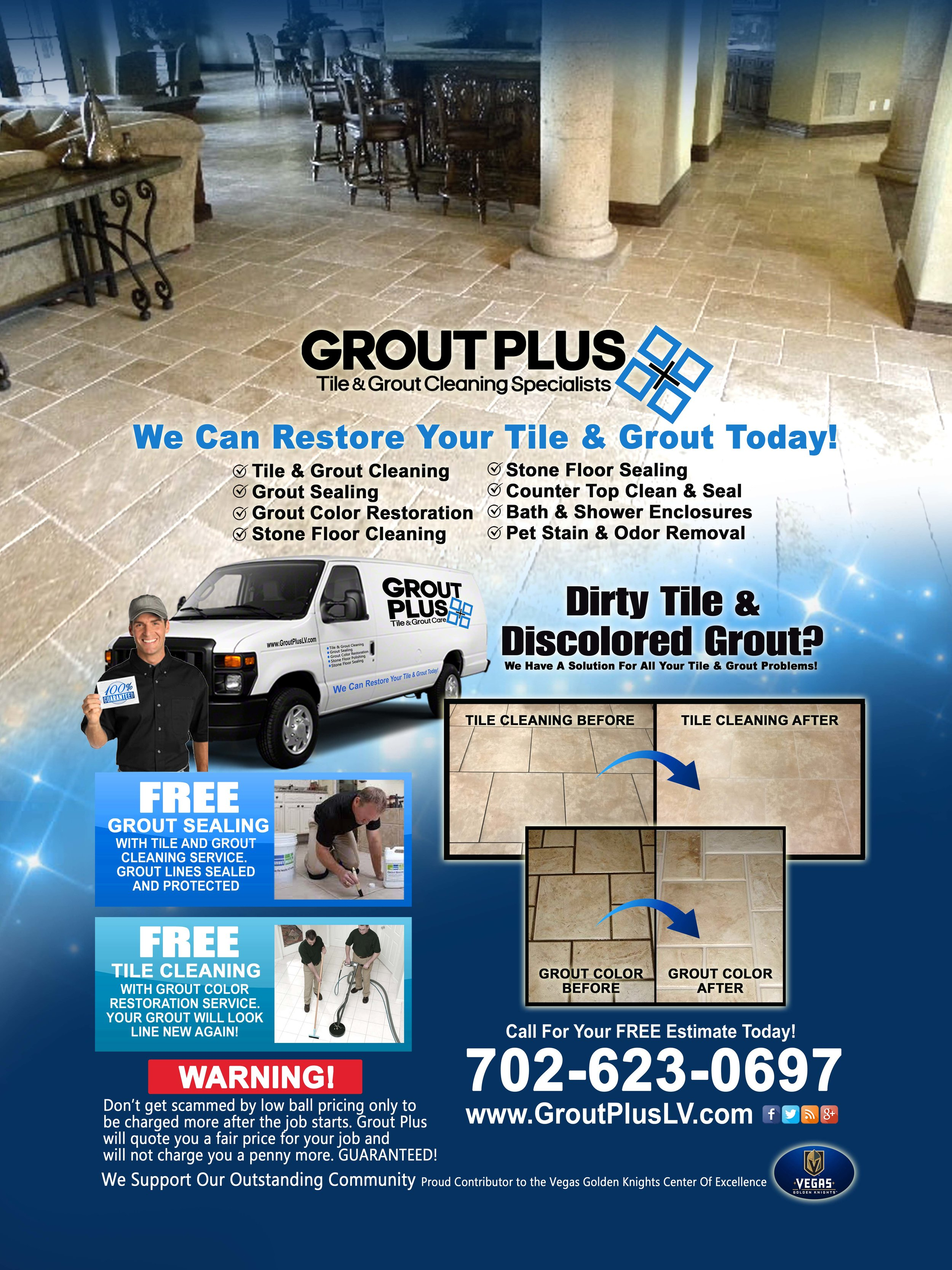 Grout Plus Tile And Grout Cleaning