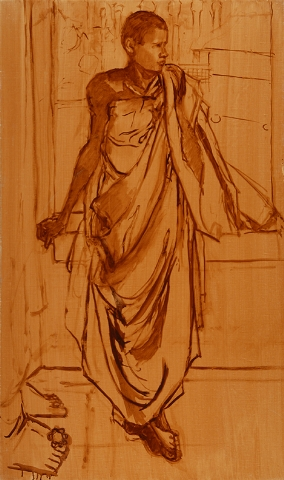 Study of Young Monk