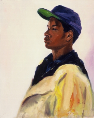 Young Man with Cap