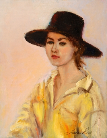 Girl with Yellow Blouse