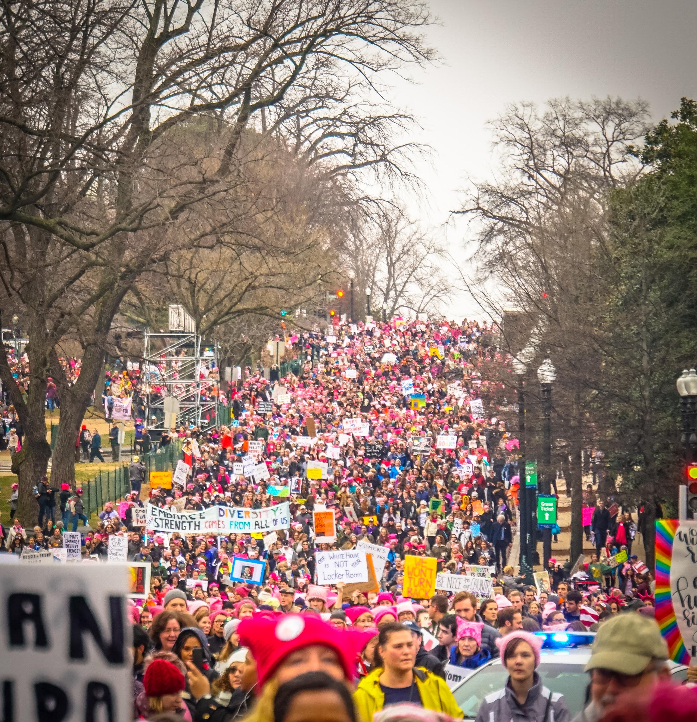 Women's March, 2017