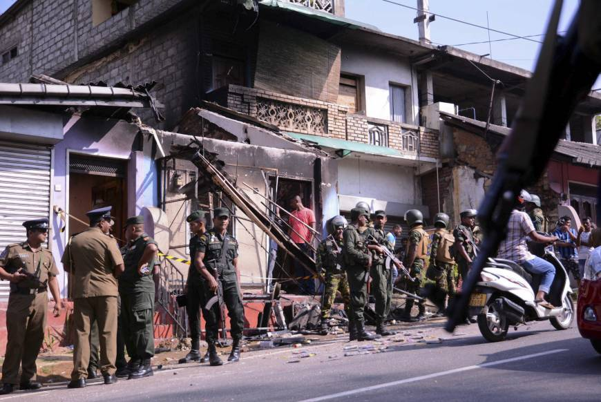 Religious Extremism lies at the root of the violence in Kandy, Sri Lanka. (photo courtesy of Colombo Gazette)