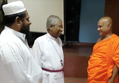 Muslim, Christian, and Buddhist Clergy IPT Members in Sri Lanka