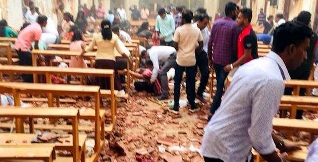 Explosion inside Sri Lanka Church (source: WikiCommons)