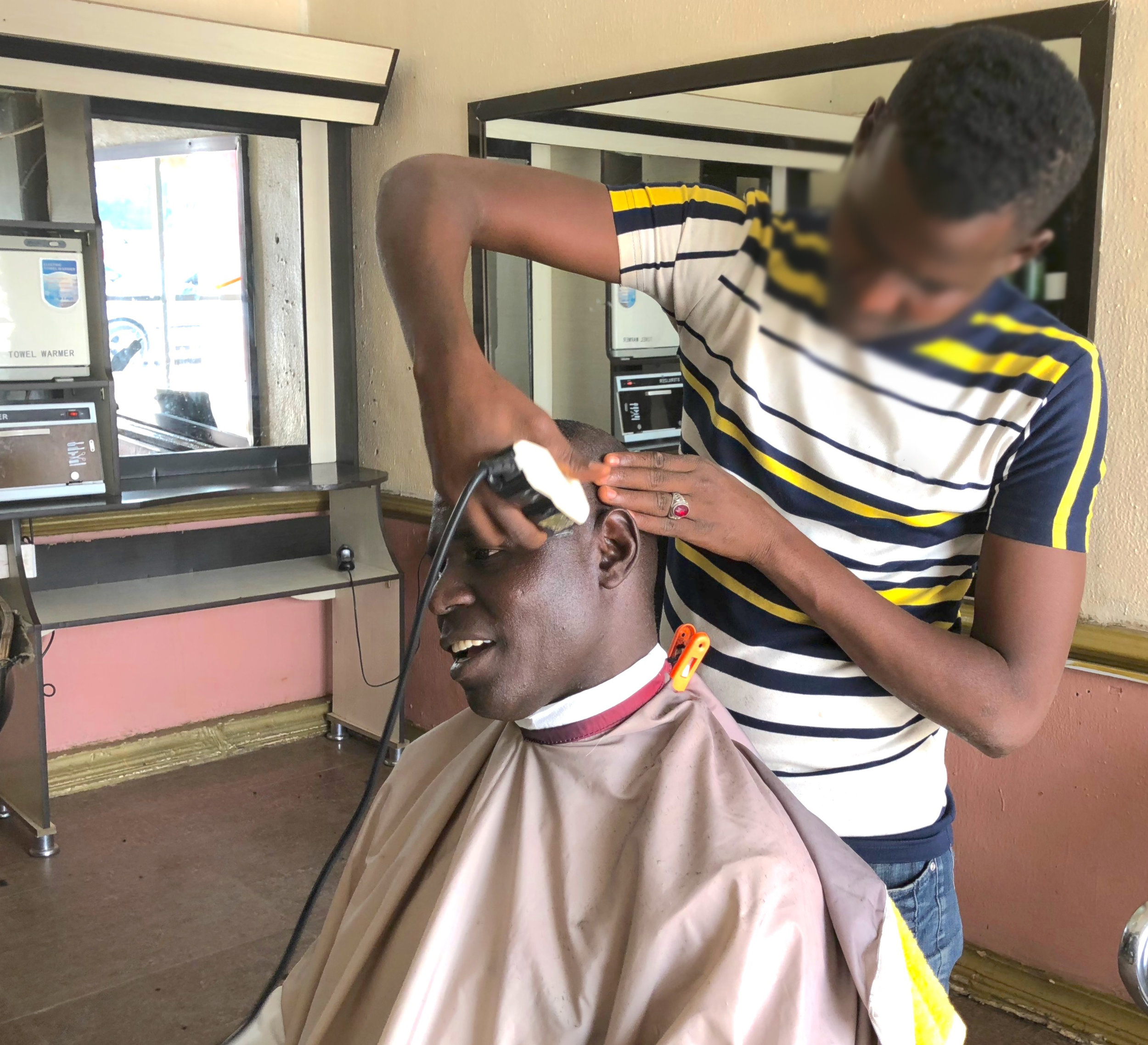 FROM BOKO HARAM TO BARBER SHOP