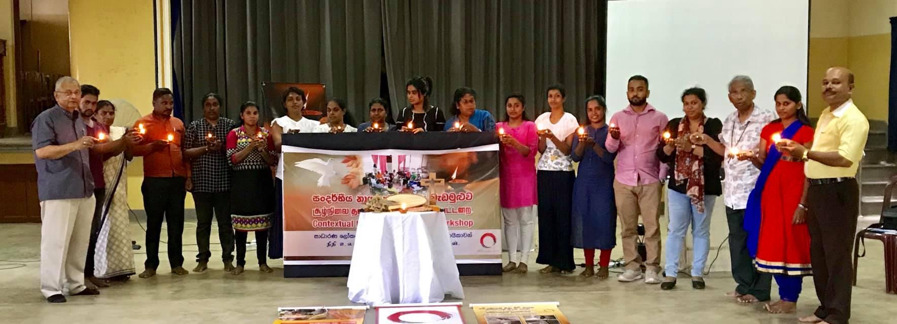 The latest graduates of OMNIA's IPT Advanced Training in Sri Lanka.