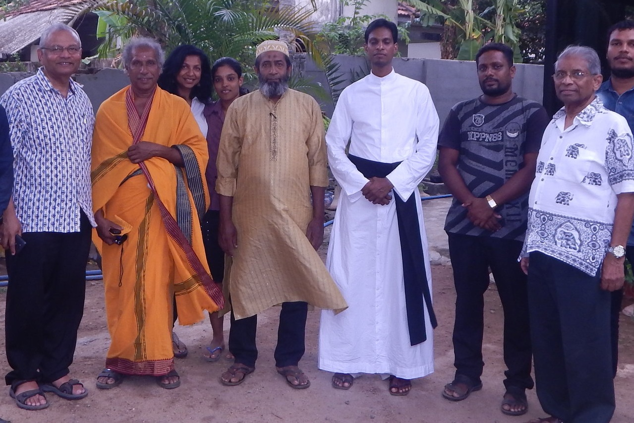 Christian, Hindu, and Muslim leaders at OMNIA IPT training event