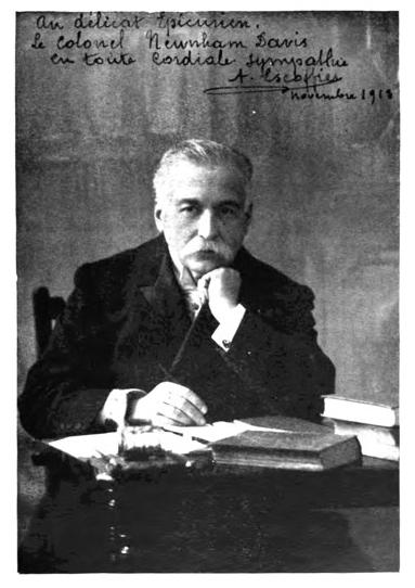 Georges-Auguste Escoffier, Kitchen Brigade architect