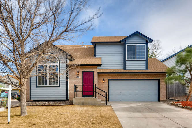 Location location location! This completely remodeled, contemporary two-story home in Arvada is just steps away from Stanley Lake. 4BD/ 4 BA, SECOND LEVEL MASTER SUITE AND FINISHED BASEMENT.Other features include AC, newer roof, new electrical, new plumbing, and two car garage. Backyard patio offers great relaxation for summer.