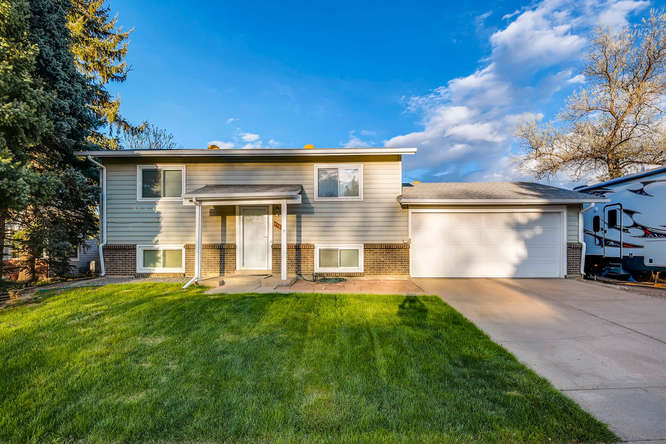 Detached single family residence in quiet neighborhood in Arvada! A corner lot with RV parking, large backyard and new patio deck. The interior includes some renovations and has lots of potential for more. Contact us for more info! This property will not be available long.