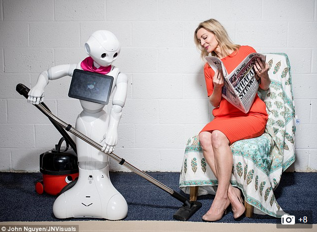Pepper Robot In The Daily Mail | Robots Of London