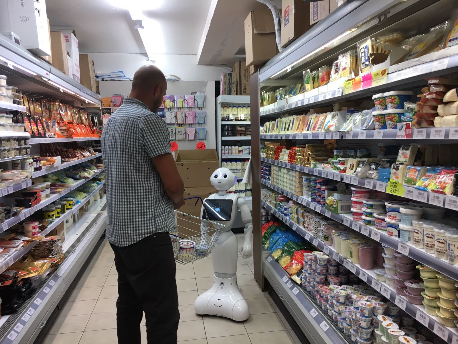 Copy of Copy of Copy of Copy of Robot Retail Assistant