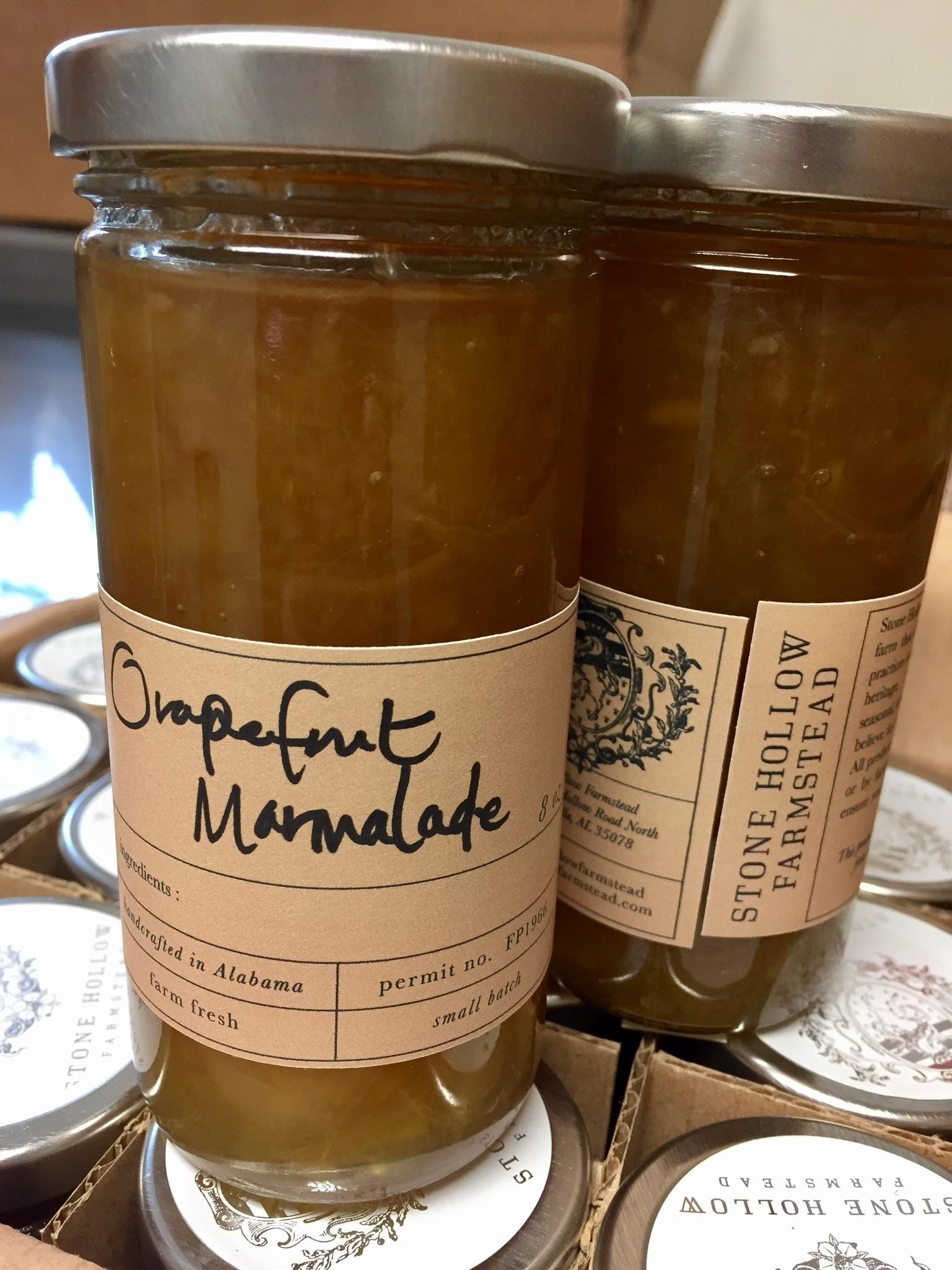 Grapefruit Marmalade / Stone Hollow Farmstead CSA