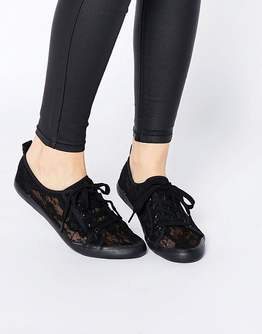 ASOS DAGNALL Lace Tie Up Sneakers