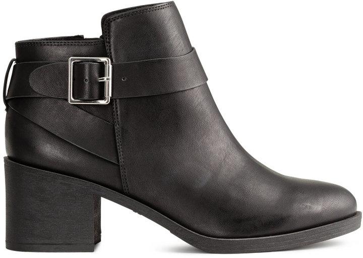 H&M - ANKLE BOOTS - BLACK - LADIES