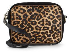 Leopard Printed Crossbody Bag