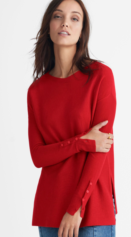 Boatneck Sweater Tunic - $36.90