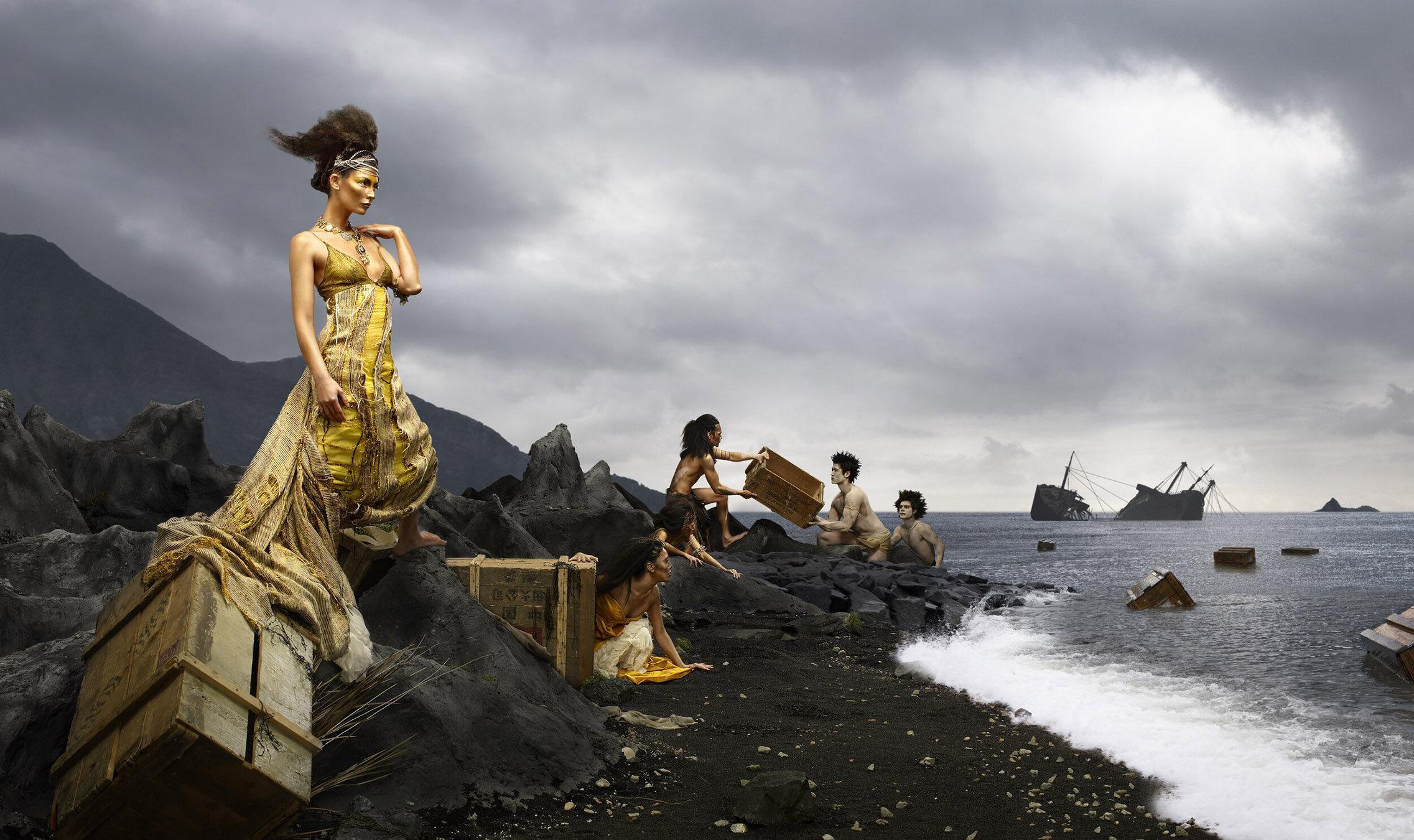 Stella Velon in the 'Lost Tribe'