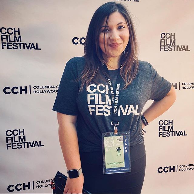 2017 Crew Spotlight: Lauryn was a huge help during last year's festival; she was always ready to lend a hand!  Repost from @lauryn_eisenstein - From creator to staff what a journey I've had this last year. So humbled and proud to be apart of the #2017cchfilmfest