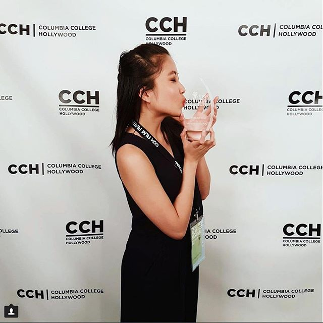 Last year's 1st place winner @itscheyennetan with her lovely trophy! We're only three weeks away from finding out who will be holding trophy's this year.