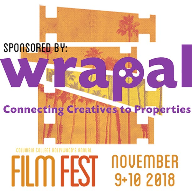 """Sponsorship Announcement: @Wrapal, """"The film industry's first online marketplace connecting #filmmakers to #filmlocations """", has joined this year's festival as a sponsor! . . . . .  #cchfilmfest2018 #cchfilmfestival #cchfilmfest #columbiacollegehollywood #shortsfestival #collegefilmfest #wrapal #sponsor #sponsorship"""